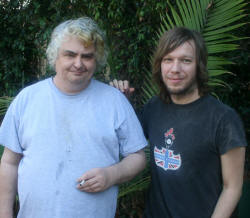Jason Falkner and Daniel Johnston