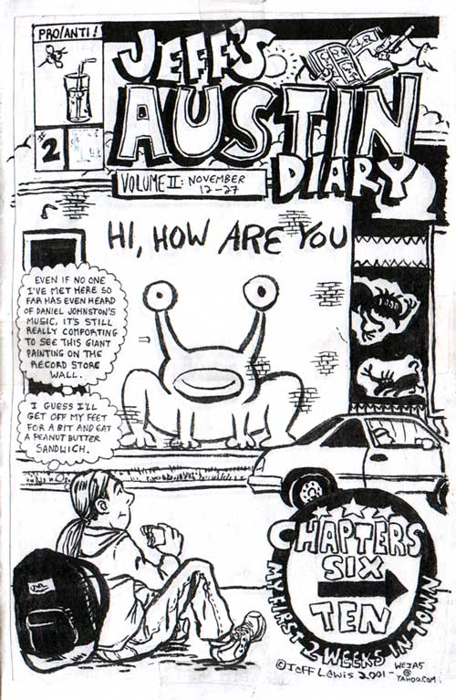Daniel johnston official fan site featured news for Daniel johnston mural austin
